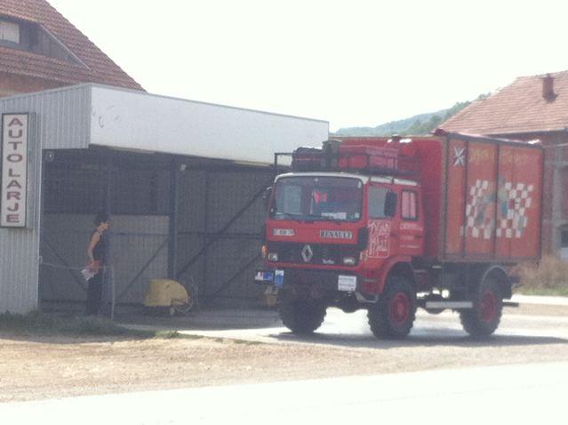 lavage camion Kosovo